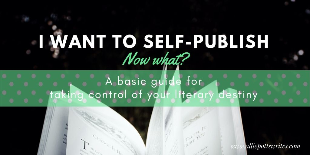 self-published: now what
