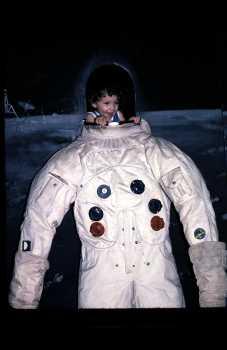Space Museum Exhibit