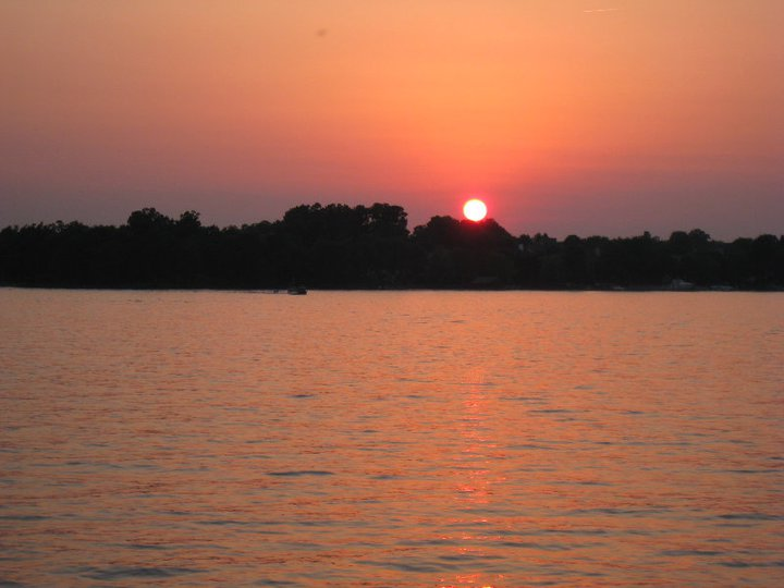 Sunset at Lake Norman