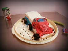 Pinterest fail truck cake - www.alliepottswrites.com