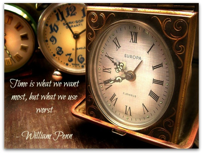 Time is what we want the most