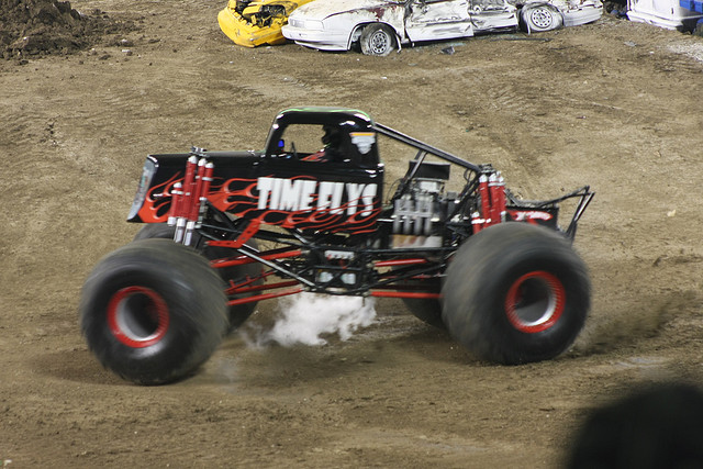 Monster Jam, Anaheim Stadium, Anaheim, CA