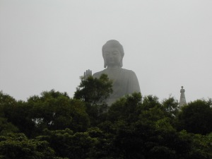 big buddha statue Hong Kong