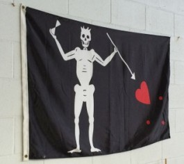 Blackbeards flag