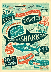 Shark Attack Prevention Infographic
