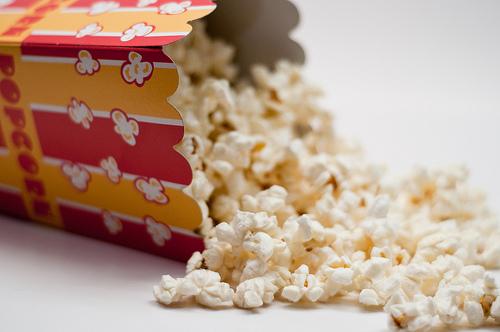 popcorn spill