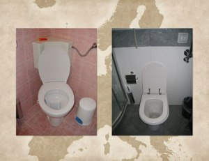 European Continental Toilets