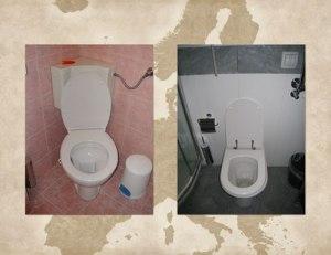 European Continental Toilets