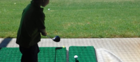 Golfing child's play