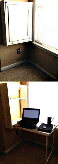 Murphy Desk - #DIY - www.alliepottswrites.com