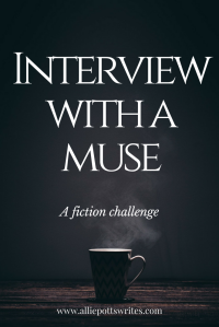 A fiction challenge and the investigation into the mysterious disappearance of my muse - www.alliepottswrites.com