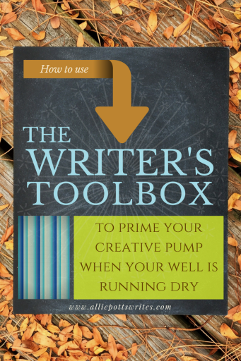 The Writer's Toolbox - The must have creative writing tool - www.alliepottswrites.com