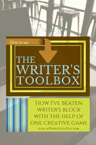 How I've beaten writer's block using one creative game. #writingtools www.alliepottswrites.com