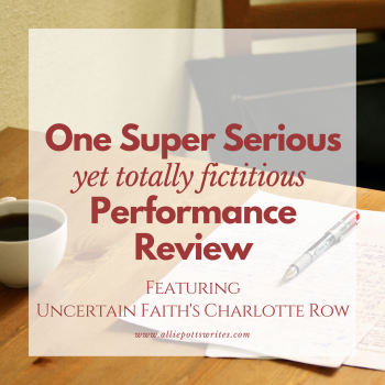The super serious yet totally fictitious performance review - www.alliepottswrites.com