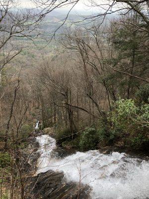 Cascades Falls NC - www.alliepottswrites.com #hiking #travel