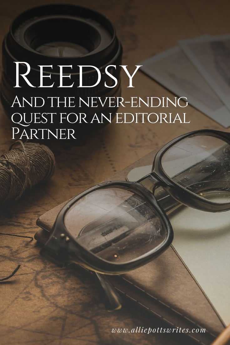 Reedsy and the quest for an editorial partner - www.alliepottswrites.com