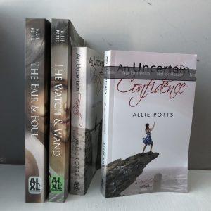 Books by Allie Potts - www.alliepottswrites.com