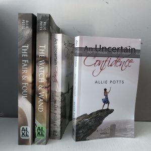 Books by Allie Potts - www.alliepottswrites.com