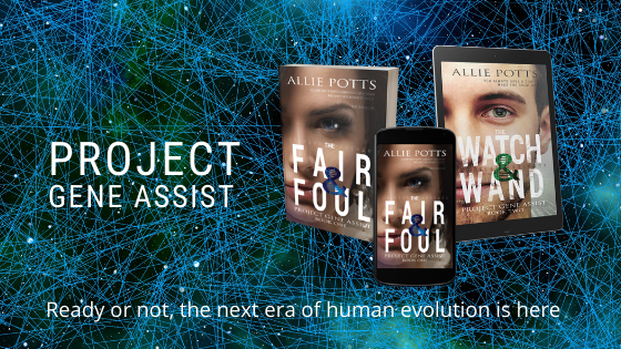 Project Gene Assist - www.alliepottswrites.com