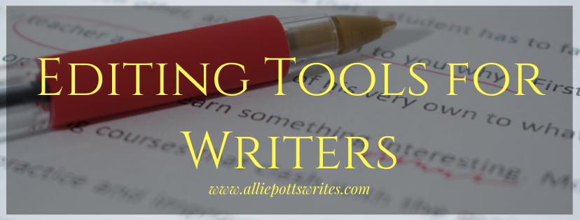 editing tools for writers