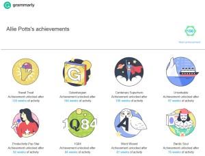 Grammarly Achievements