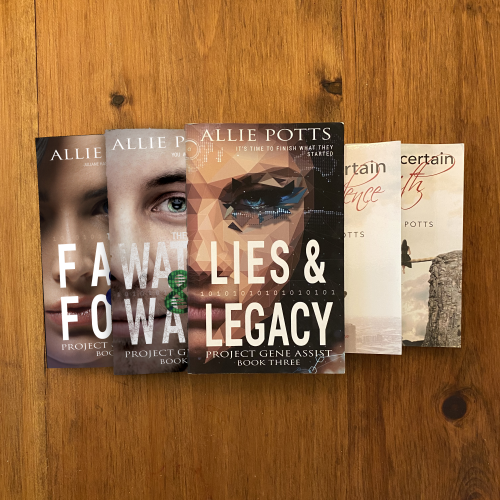 Books by Allie Potts